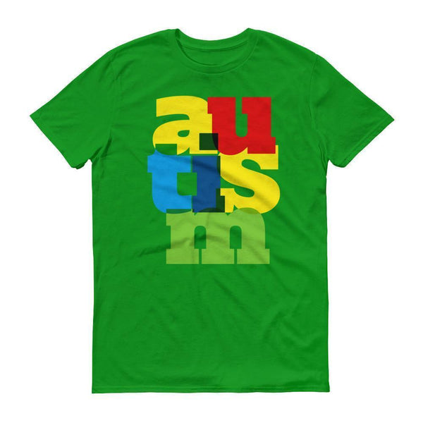 Men's Autism Awareness 2017 TShirt-T-Shirt-BelDisegno-Green Apple-S-Men-BelDisegno