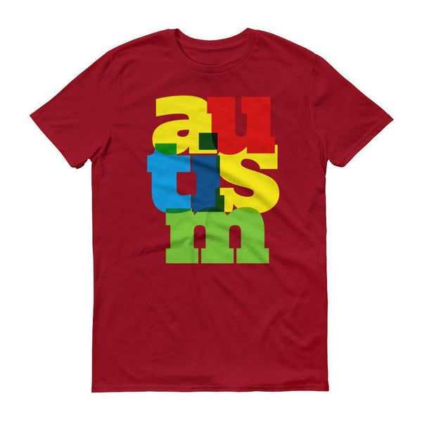 Men's Autism Awareness 2017 TShirt-T-Shirt-BelDisegno-Independence Red-S-Men-BelDisegno