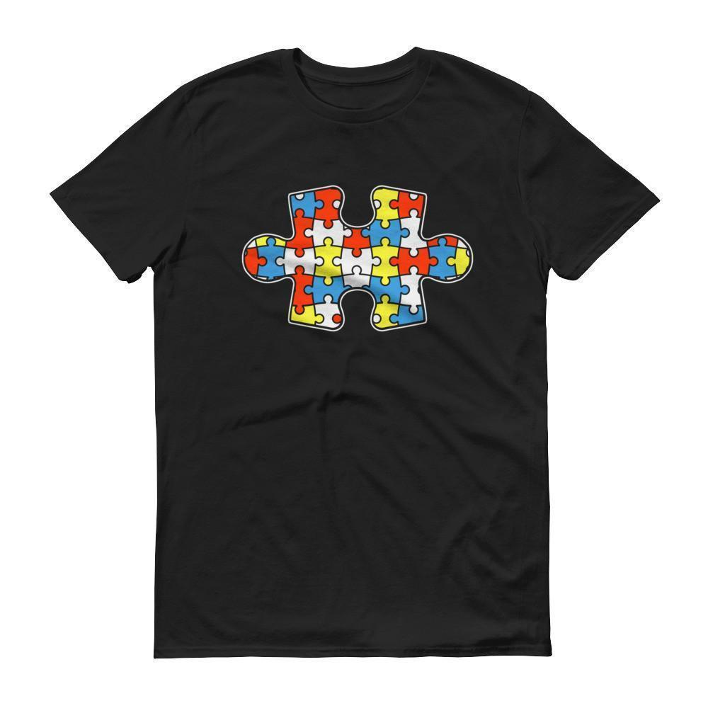 Autism Awareness Autism Day Mouth 2017 T-shirt Color: Black, Smoke, Navy, Royal Blue, RedSize: S, M, L, XL, 2XL, XS, 3XL