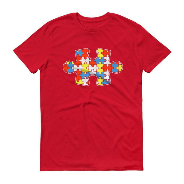 Autism Awareness Autism Day Mouth 2017 T-shirt Red / 3XL / Men T-Shirt BelDisegno