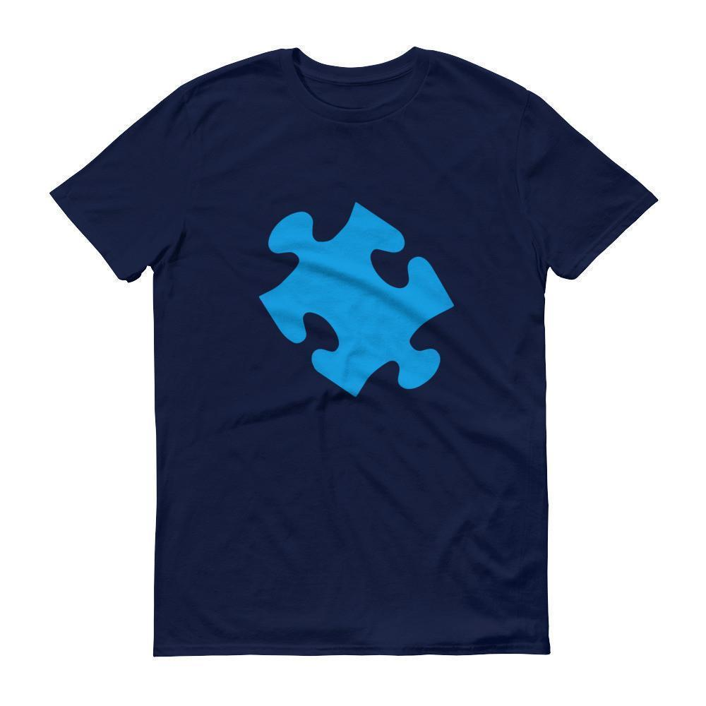 Autism Awareness Blue Puzzle Set T-shirt