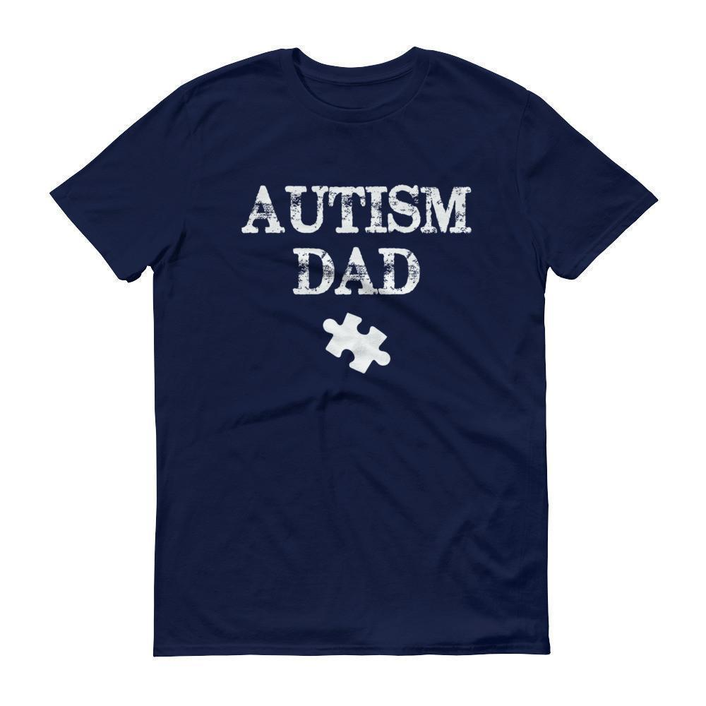 Autism Dad Autism Awareness Day Products for gift T-shirt