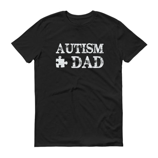 Men's Autism Dad Autism Awareness TShirt-T-Shirt-BelDisegno-Black-S-Men-BelDisegno