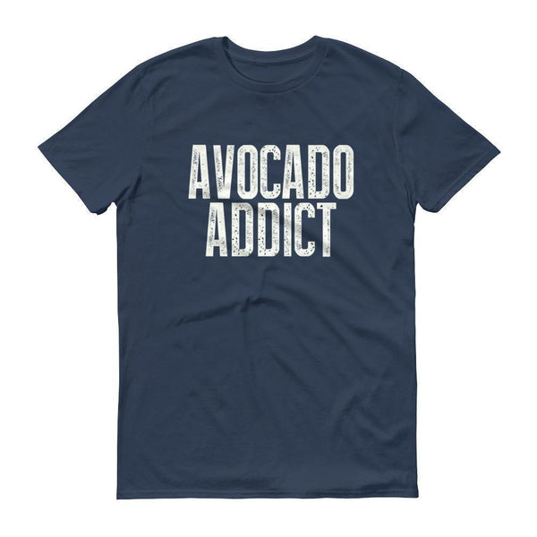 Men's Avocado Addict tshirt-T-Shirt-BelDisegno-Lake-S-BelDisegno