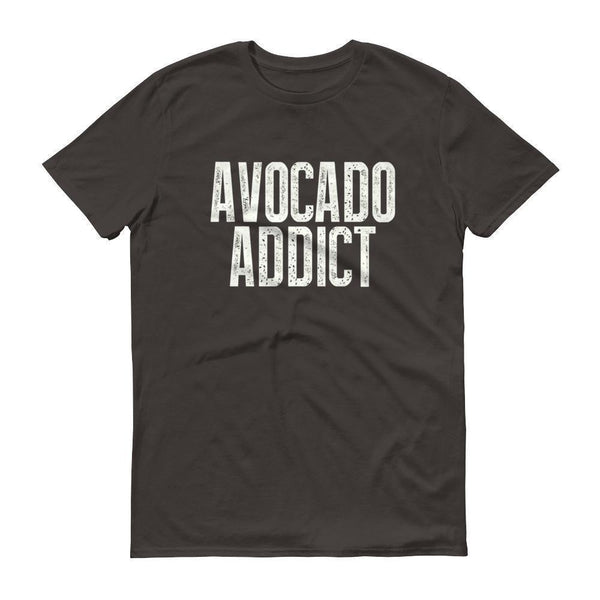 Men's Avocado Addict tshirt-T-Shirt-BelDisegno-Smoke-S-BelDisegno