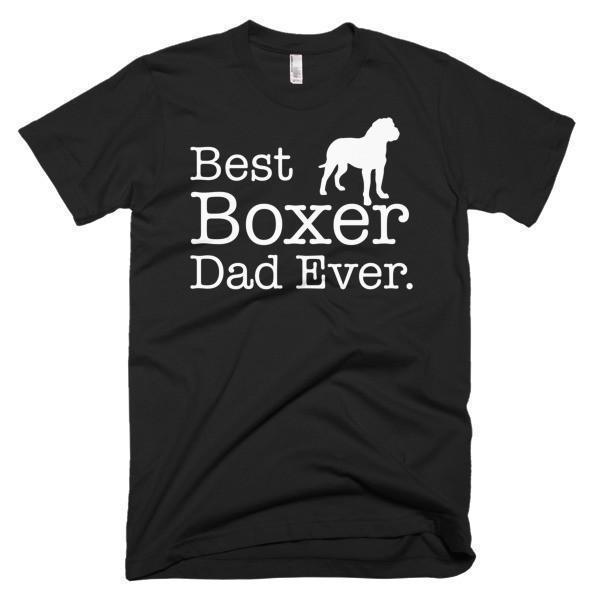 Best Boxer Dad Ever Dog Lover Gift T-shirt