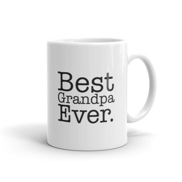 Men's Best Grandpa Ever dad gift Coffee Mug-Mug-BelDisegno-11oz-BelDisegno