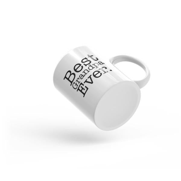 Men's Best Grandpa Ever dad gift Coffee Mug-Mug-BelDisegno-BelDisegno