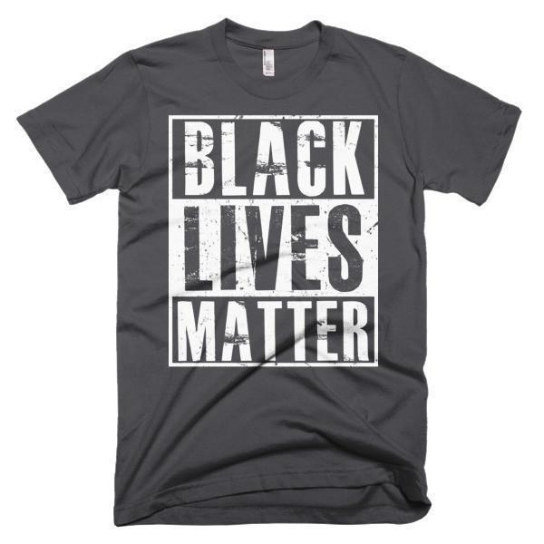Men's Black Lives Matter T-shirt Asphalt / 3XL / Men T-Shirt BelDisegno