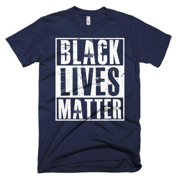 Men's Black Lives Matter TShirt-T-Shirt-BelDisegno-Navy-S-Men-BelDisegno