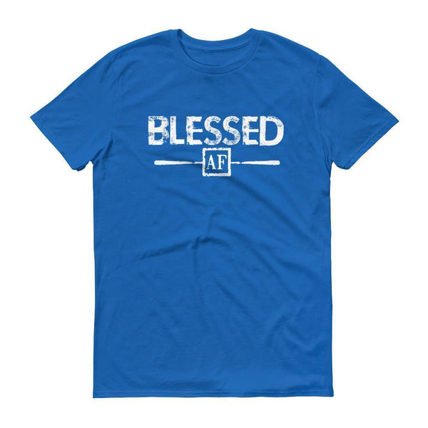 Men's Blessed AF tshirt Royal Blue / 3XL T-Shirt BelDisegno