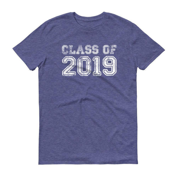 Men's Class of 2019 tshirt Back to school gift-T-Shirt-MaryLaax-Heather Blue-S-BelDisegno