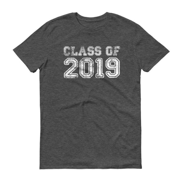Men's Class of 2019 tshirt Back to school gift-T-Shirt-MaryLaax-Heather Dark Grey-S-BelDisegno