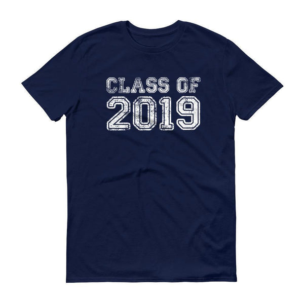 Men's Class of 2019 tshirt Back to school gift-T-Shirt-MaryLaax-Navy-S-BelDisegno