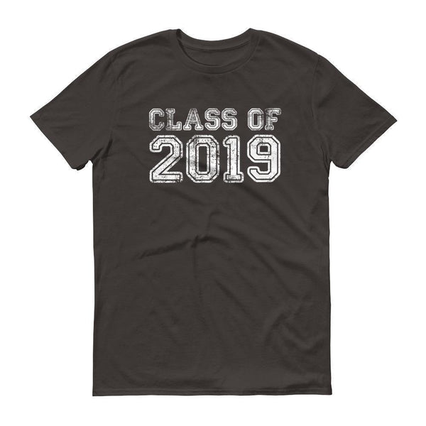 Men's Class of 2019 tshirt Back to school gift-T-Shirt-MaryLaax-Smoke-S-BelDisegno