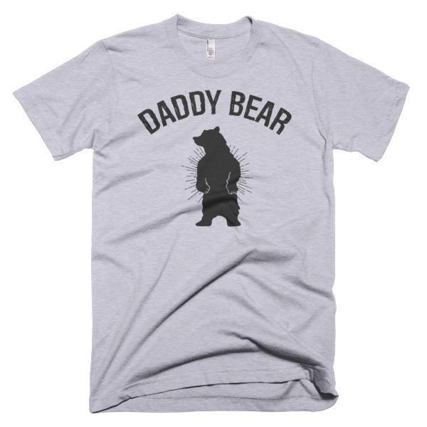 Daddy Bear T-shirt - birthday gift for dad