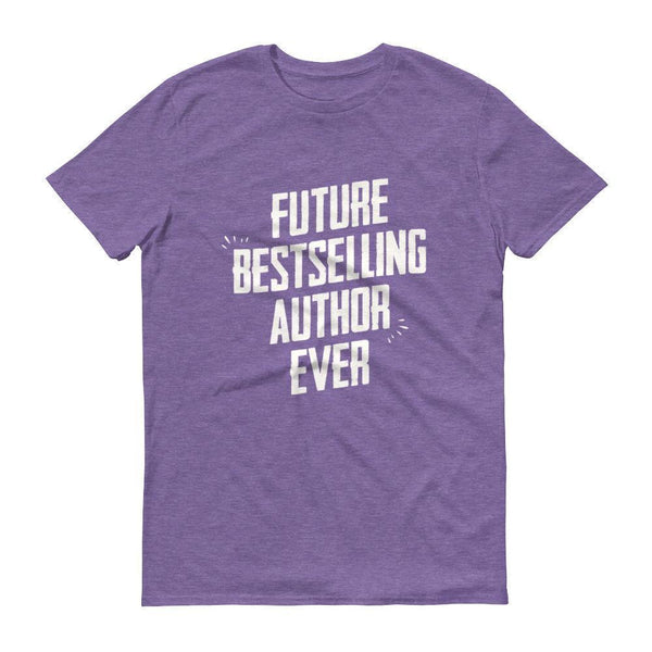 Men's Future Bestselling Author Ever tshirt Author gift-T-Shirt-BelDisegno-Heather Purple-S-BelDisegno