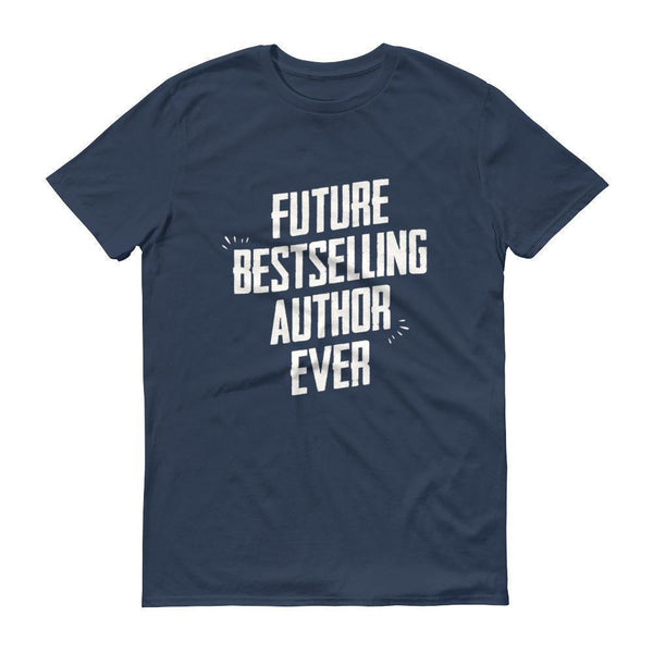 Men's Future Bestselling Author Ever tshirt Author gift-T-Shirt-BelDisegno-Lake-S-BelDisegno