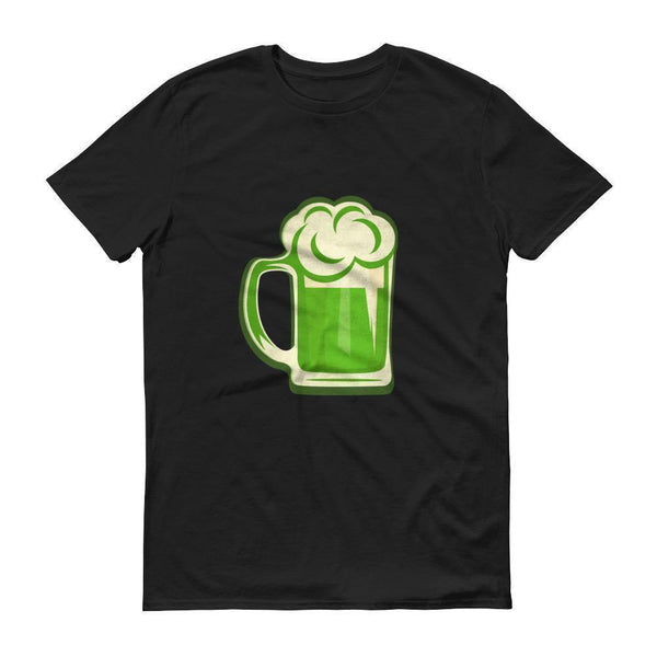 Men's Green Beer tshirt funny party shirts for St Patrick's day 2018-T-Shirt-BelDisegno-Black-S-BelDisegno