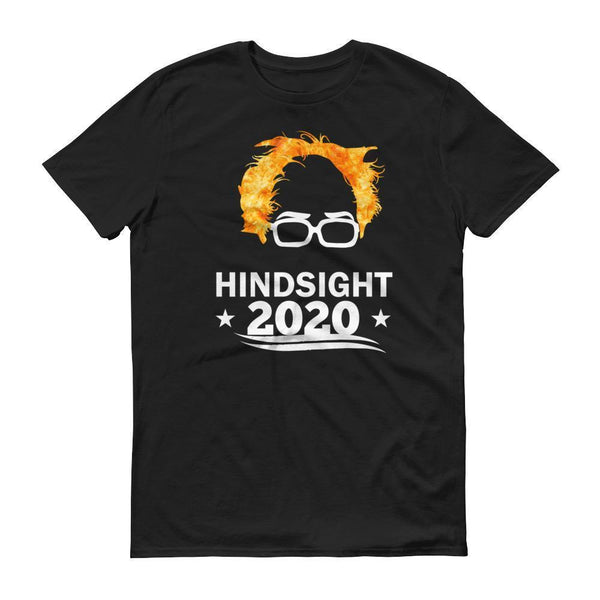 Men's Hindsight is 2020 Bernie Sanders tshirt-T-Shirt-BelDisegno-Black-S-BelDisegno