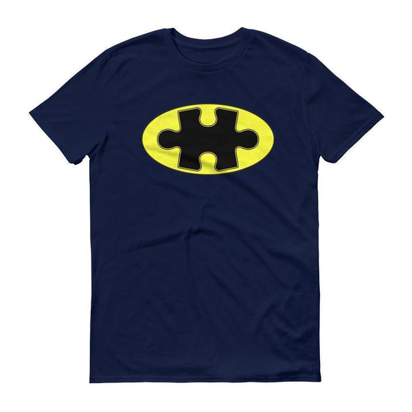 Men's Superhero Au Autism Awareness 2017 TShirt-T-Shirt-BelDisegno-Navy-S-Men-BelDisegno