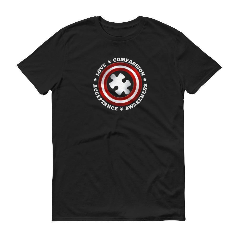 Superhero Captain Autism T-shirt