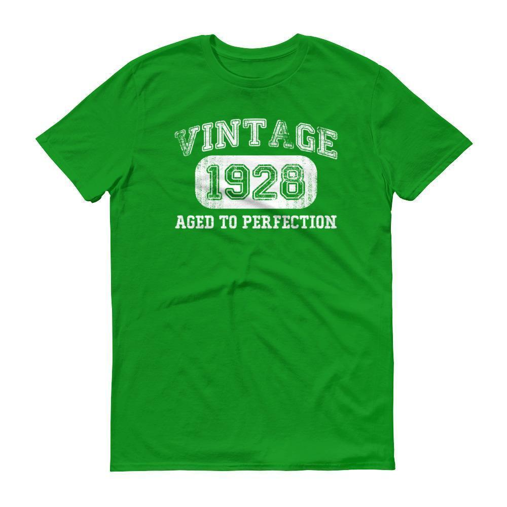 Men's 1928 Tshirt 90th birthday ideas for grandpa  T-Shirt BelDisegno