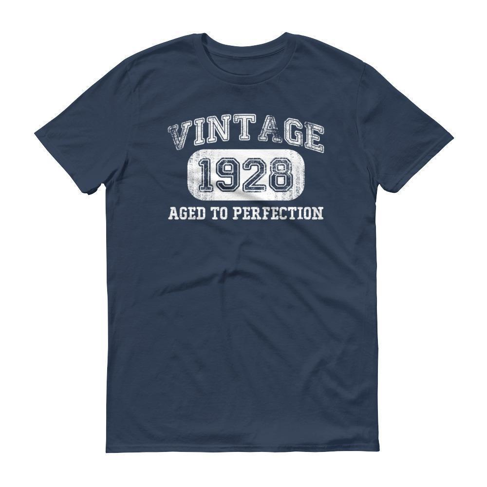 Men's 1928 Tshirt 90th birthday ideas for grandpa Lake / 3XL T-Shirt BelDisegno