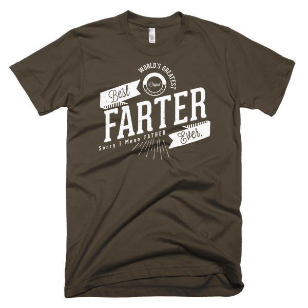 World's Greatest Farter, I mean father Funny T-shirt