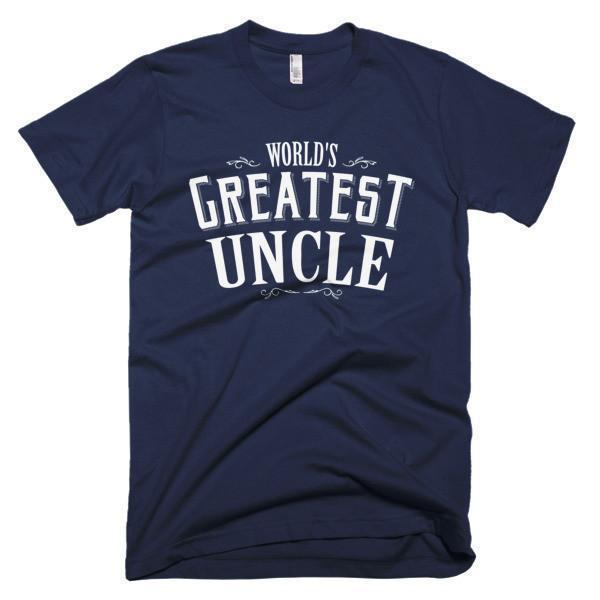 World's Greatest Uncle gift T-shirt