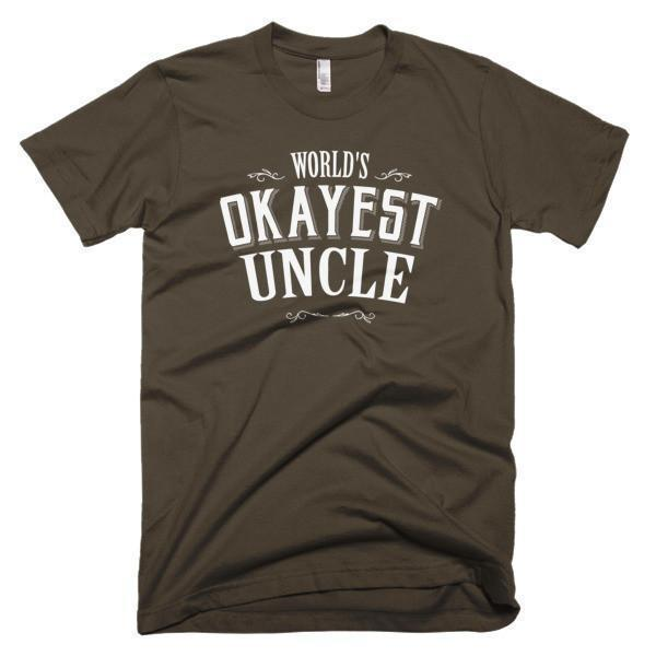 World's Okayest Uncle gift T-shirt