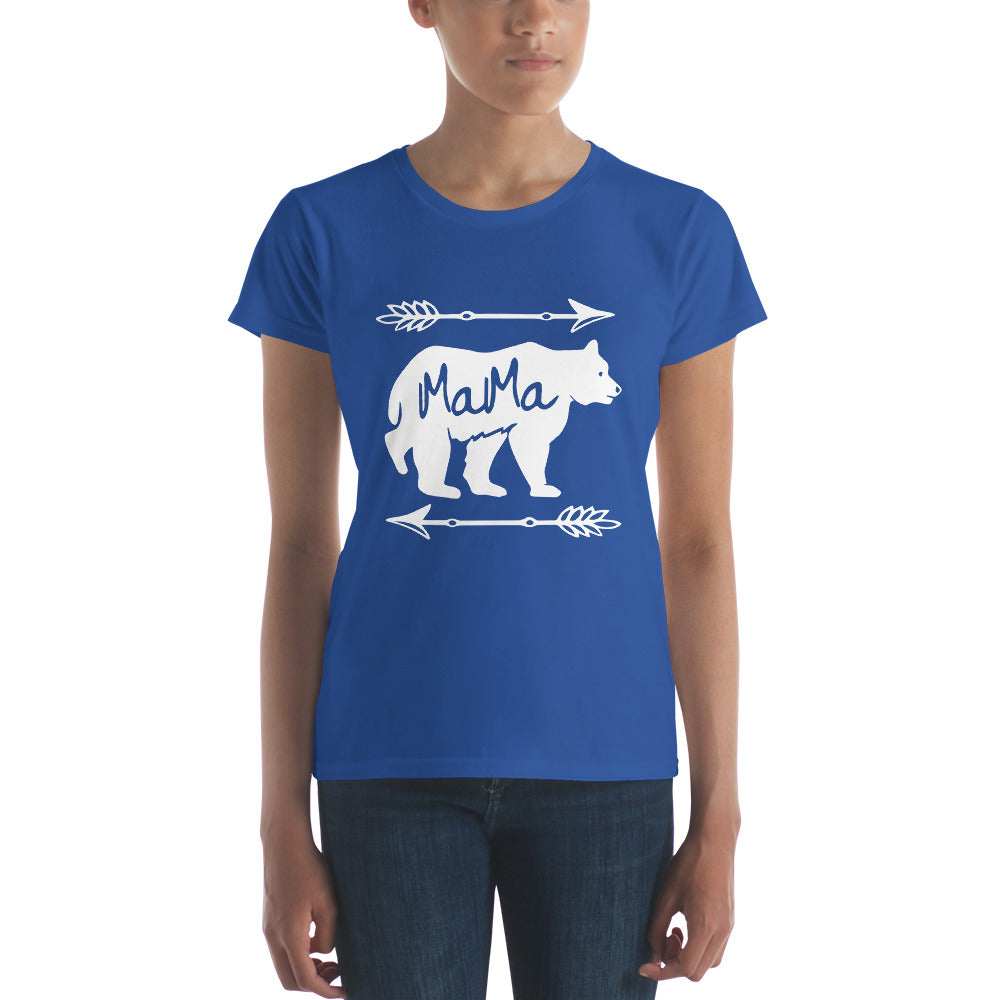 Mama Bear T-shirt - Mom gift t-shirt for mother's day Royal Blue / 2XL T-Shirt BelDisegno