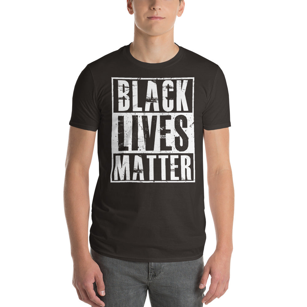 Black Lives Matter T-shirt racist violence Shirt Color: AsphaltSize: S