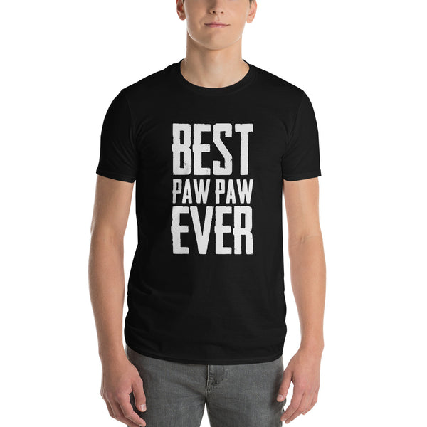 Best Paw Paw Ever Short-Sleeve T-Shirt