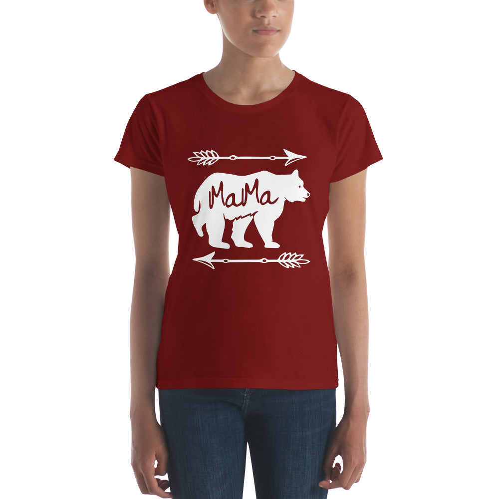Mama Bear T-shirt - Mom gift t-shirt for mother's day Independence Red / 2XL T-Shirt BelDisegno