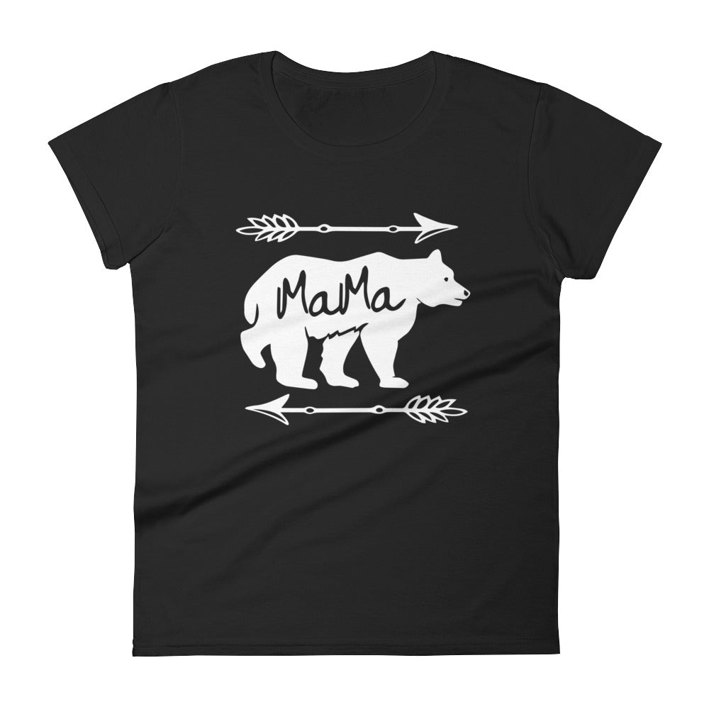 Mama Bear T-shirt - Mom gift t-shirt for mother's day Black / 2XL T-Shirt BelDisegno