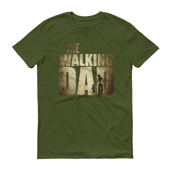 Walking Dad Funny Shower Gift Father's Day T-shirt Olive / 3XL / Men T-Shirt BelDisegno