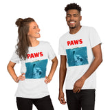 Paws Cat Kitten Meow Parody Funny Cat Lover Gifts T-shirt