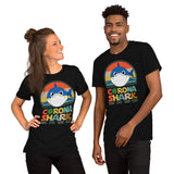 Corona Shark Doo Doo doo doo T-Shirt Color: Black, Brown, Navy, Forest, True Royal, RedSize: XS, S, M, L, XL, 2XL, 3XL, 4XL