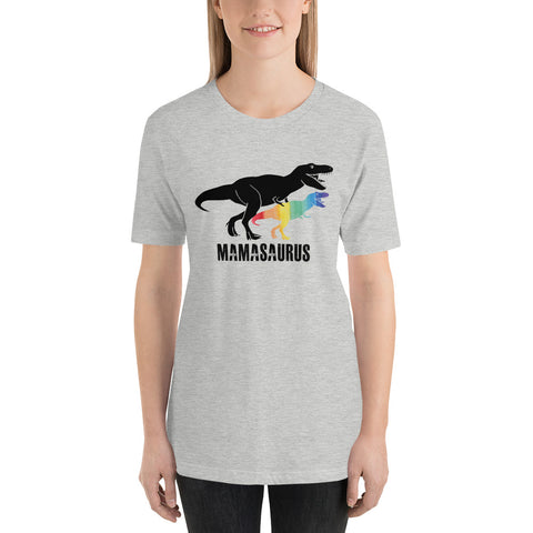 LGBT Mom Saurus Rex LGBT Shirts Mothers Gift Rainbow Shirt