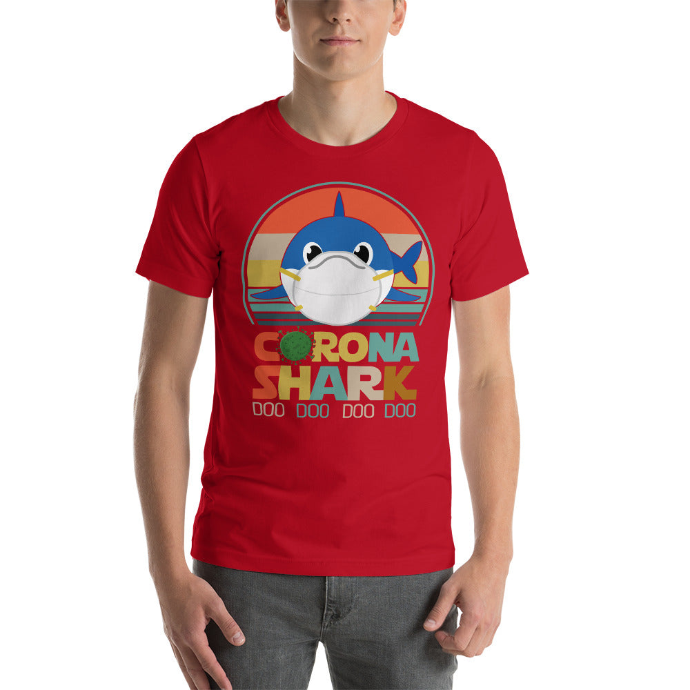 Corona Shark Doo Doo doo doo T-Shirt Color: RedSize: S