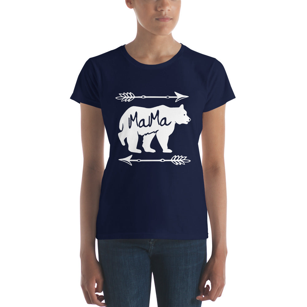 Mama Bear T-shirt - Mom gift t-shirt for mother's day Navy / 2XL T-Shirt BelDisegno