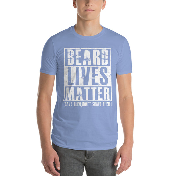 Beard Lives Matter T-shirt Funny Beard Shirt Light Blue / 3XL T-Shirt BelDisegno