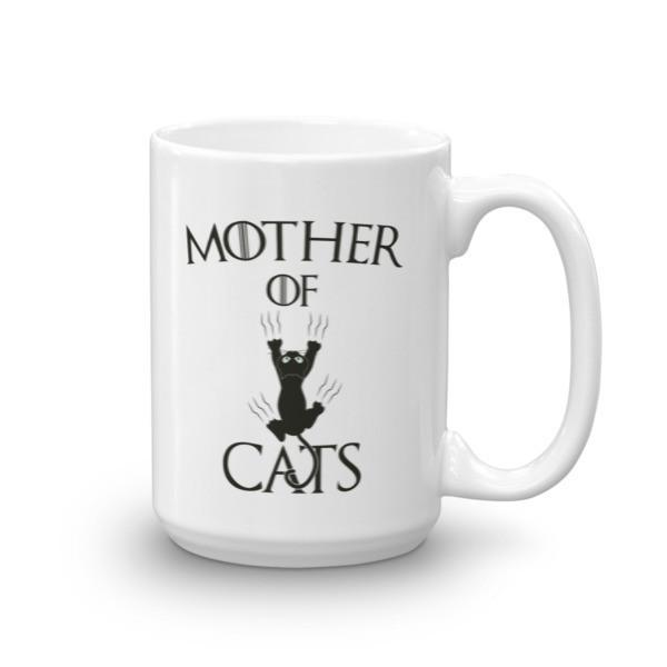 Mother of Cats instead of dragon Coffee Mug 15oz Mug BelDisegno