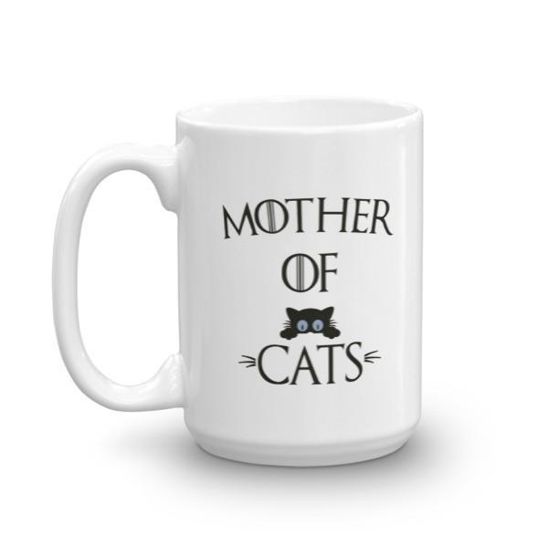 Mother of Cats instead of dragon Coffee Mug  Mug BelDisegno