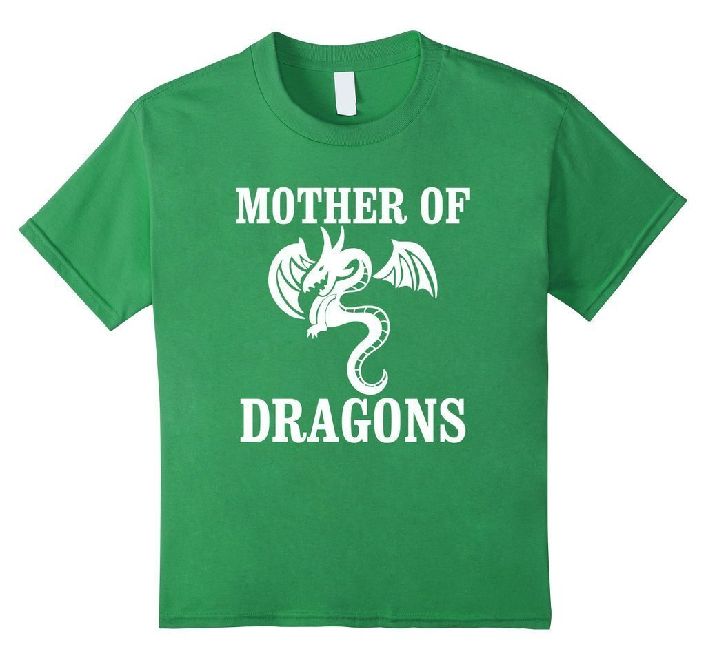 Mother Of Dragons Womens T-shirt Grass / XL T-Shirt BelDisegno