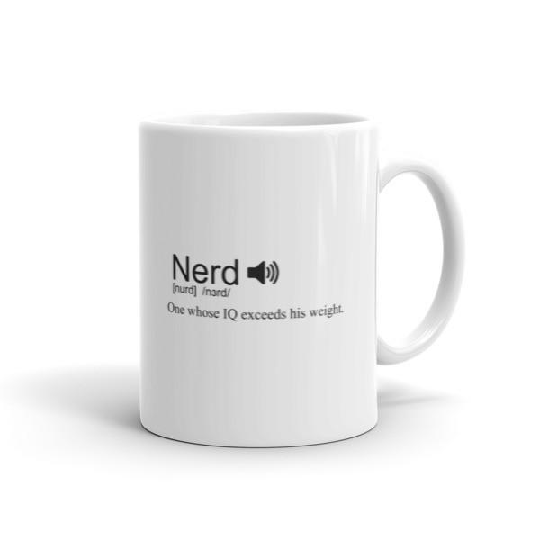 Nerd definition Coffee Mug 11oz Mug BelDisegno
