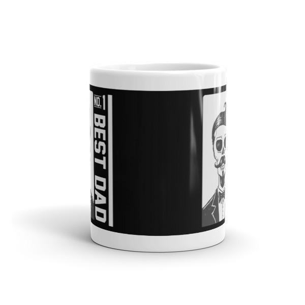 no. 1 Best Dad Father's day gift Coffee Mug  Mug BelDisegno
