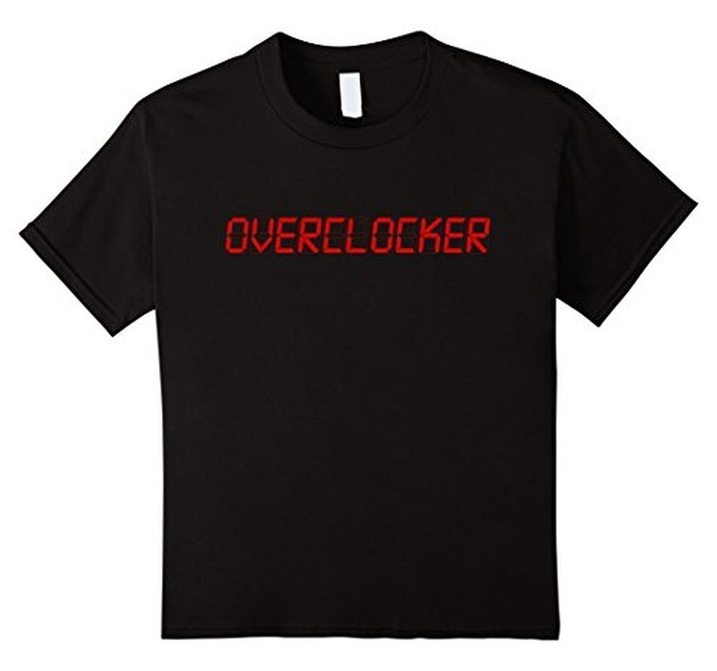 OVERCLOCK for rendering geek MEN T-shirt Black / XL / Women T-Shirt BelDisegno