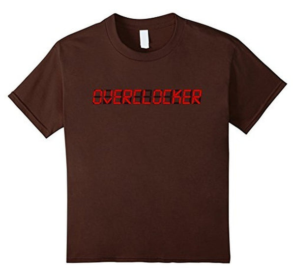 OVERCLOCK for rendering geek MEN T-shirt Brown / XL / Women T-Shirt BelDisegno